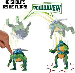 Rise of the Teenage Mutant Ninja Turtles Leonardo Backflip Ninja Attack Deluxe Figure