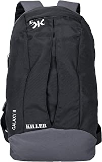 Killer Galaxy Black Small Outdoor Mini Backpack 11L Daypack