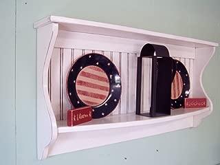Primitive Wood Bowl//Plate//HOLDER Shelf w//drawer Country Farmhouse HANDMADE