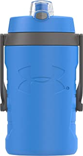 Under Armour Sideline 64 Ounce Water Bottle,Rebel Pink HDPE 64 Ounce Jet Blue