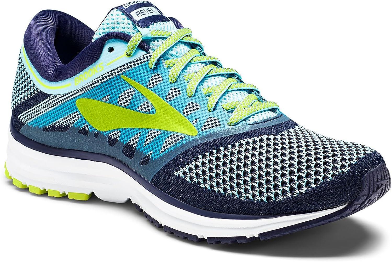 Brooks Women's Revel Running shoes (BRK120249 1B 3887410 5 402 blueee blueee Lime)