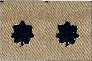 Desert Collar Rank O-5 LTC - 1 Pair