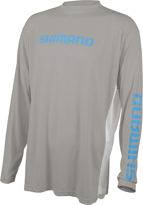 SHIMANO Long Sleeve Manufacturer OFFicial shop Tech Outstanding Tee Gear Fishing