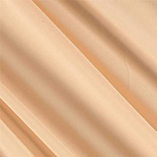 Ben Textiles Chiffon Solid Champagne Fabric By The Yard