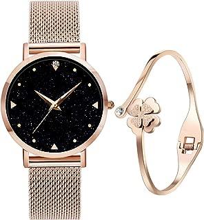 Relojes de Cuarzo analógicos para mujer niña de Agua 3ATM