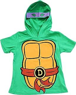 Teenage Mutant Ninja Turtles TMNT Boys Costume T-Shirt with Hoodie