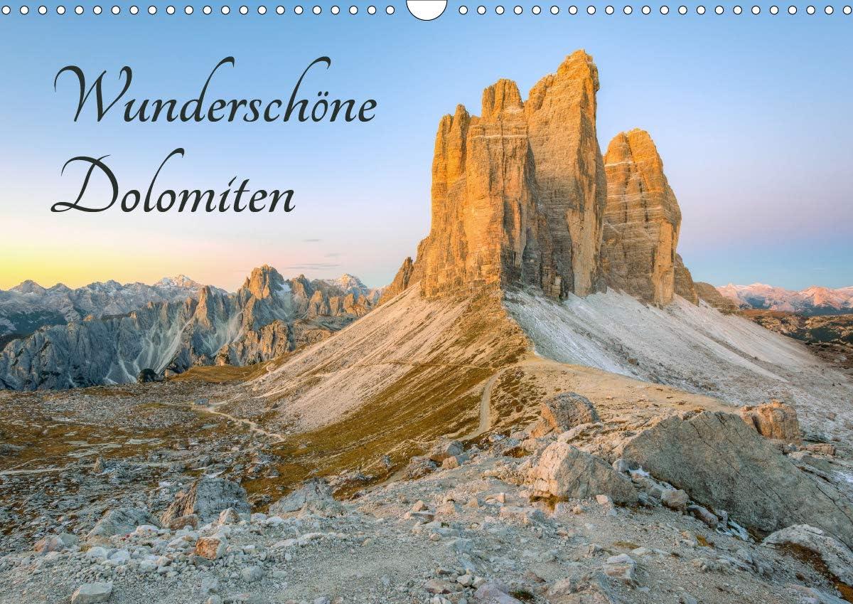 Wunderschöne Dolomiten Wandkalender Popular overseas 2021 quer Max 48% OFF A3 DIN