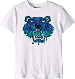 Tiger Face Tee (Little Kids)