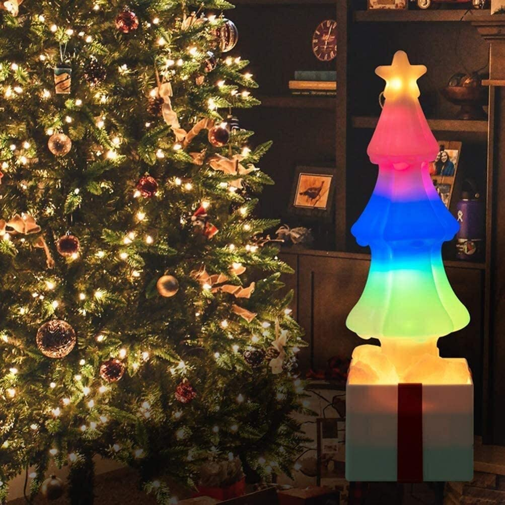 JYTFZD Conveniently Christmas Tree Night Himalayan La Award Salt Nippon regular agency Light