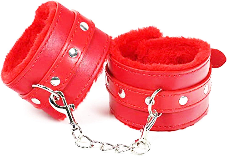 Regular discount Wrist Red Cuffs Ranking TOP20 Leather Soft Handcuffs