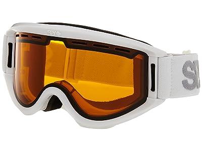 Spy Optic Getaway (White/Persimmon) Goggles