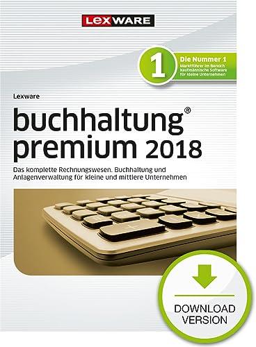 Lexware buchhaltung premium 2018 Download Jahresversion (365-Tage) [Online Code]