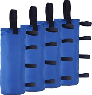 ABCCANOPY Outdoor Pop Up Canopy Tent Gazebo Weight Sand Bag Anchor Kit-4 Pack (Blue-Single)