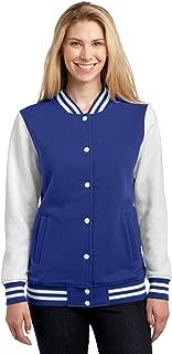 Women's Fleece Letterman Jacket