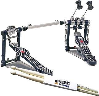 SONOR GDPR-3 GIANT STEP double-Bass Drum Pedal para Pedal + 1 par de baquetas KEEPDRUM