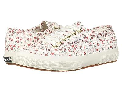Superga 2750 Printed COTW Sneaker (Red Floral) Women
