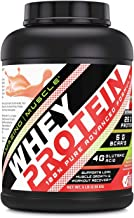Amazing Muscle 100% Whey Protein Powder *Advanced Formula with Whey Protein Isolate as a Primary Ingredient Along with Ult...