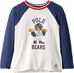 Polo Bear Baseball T-Shirt (Little Kids/Big Kids)