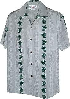 Turtle Panel Men's Aloha Shirts