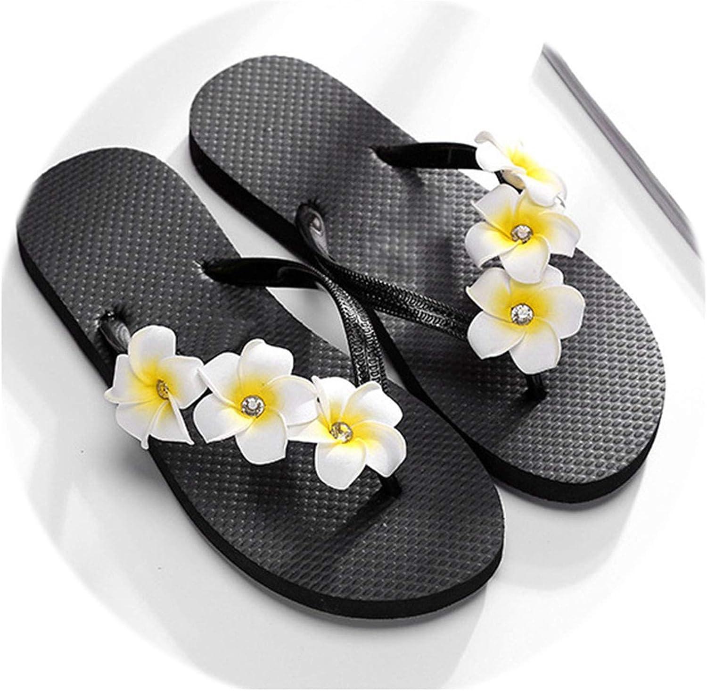 Rather be Women Slippers Summer Beach Sandal Slippers Fashion Flower Beach Anti-Skid Outdoor Slides Flip Flops Ladies shoes