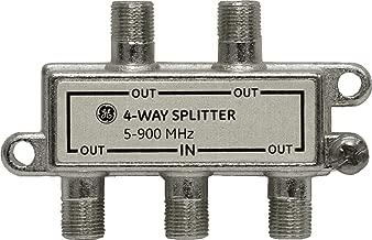 GE 73219 4-Way Nickel Signal Splitter