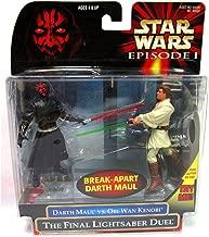 Star Wars: Episode 1 - The Final Lightsaber Duel (Obi-Wan vs. Darth Maul) Action Figure 2-Pack