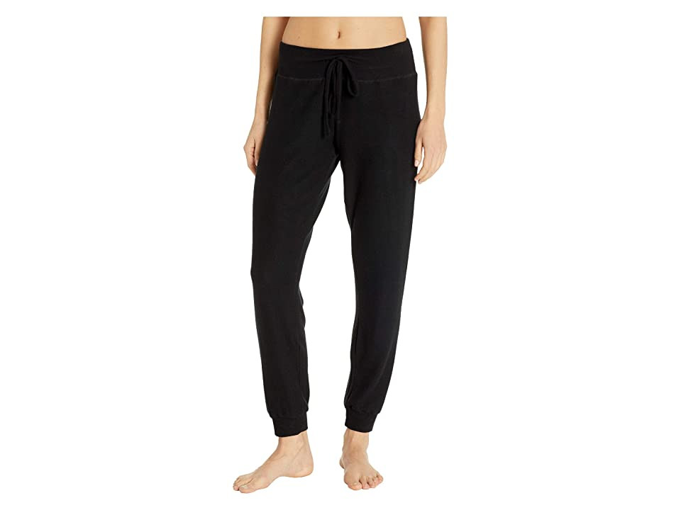 Beyond Yoga Lounge Around Midi Joggers (Black) Women