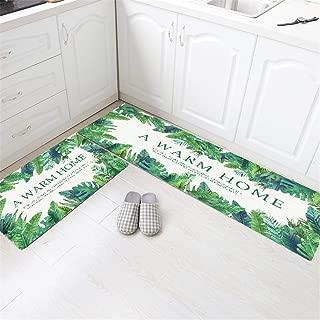 マットマーフィー ピアノ 音 マットじゅーうたん 50X80+50X150cm シンプルなスタイルのキッチンフロアマット長い耐油性フロアマット浴室浴室滑り止め吸収ドアマット格子長正方形ポリエステル