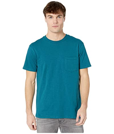 Billabong Mesa Slub Premium Crew T-Shirt (Pacific) Men
