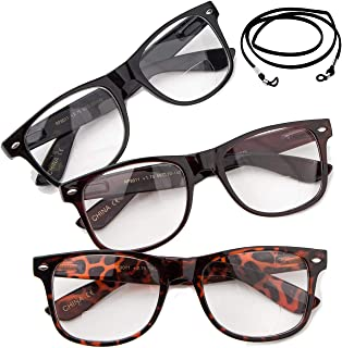 Big Frame Reading Glasses Men Women Comfortable Stylish Simple Reading Glasses