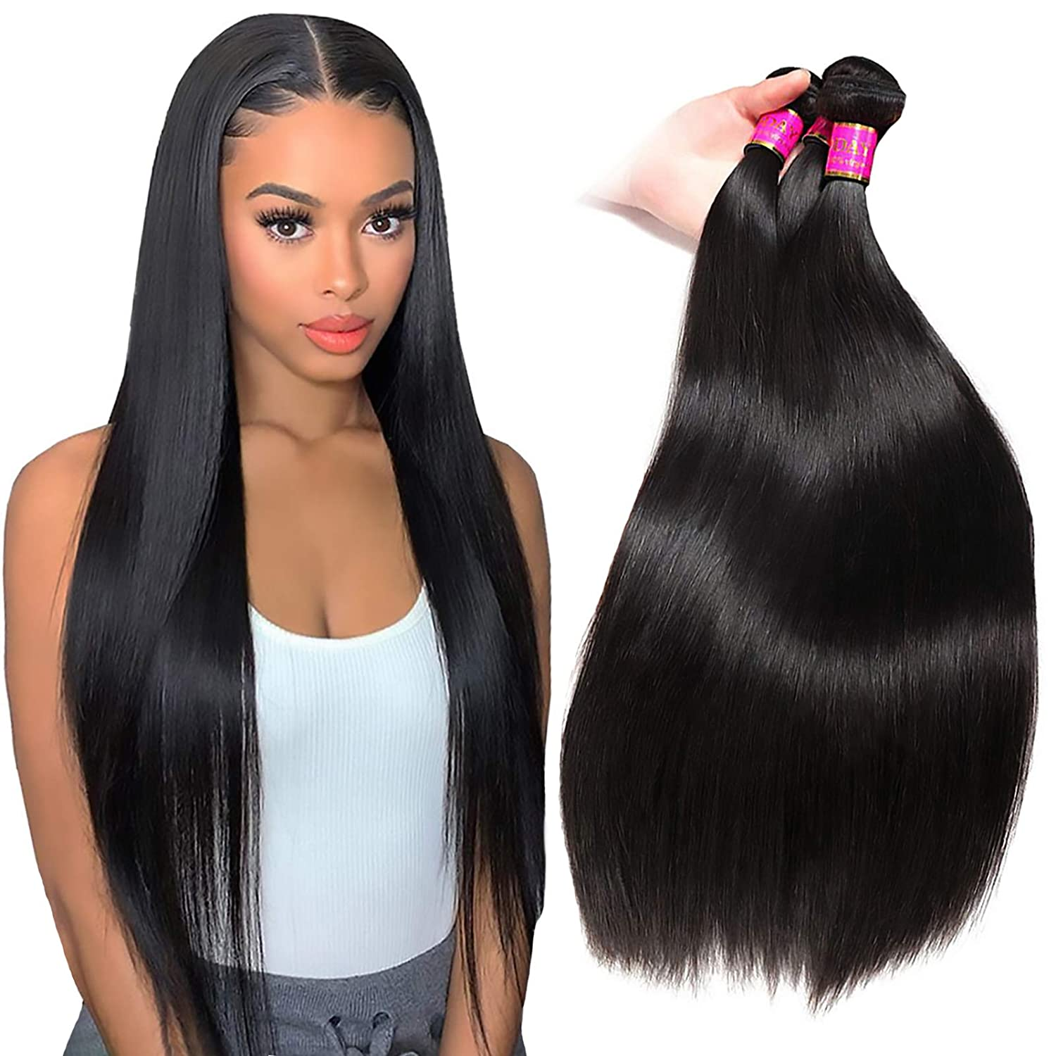 TodayOnly gift 10A Grade Straight 3 Bundles Inch 12 14 of 5 ☆ popular Brazil