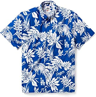 Reyn Spooner Men's Los Angeles Dodgers MLB Classic Fit Hawaiian Shirt