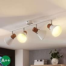 Strahler in Wei/ß aus Metall u.a f/ür Schlafzimmer 1 flammig, E14, A+, inkl. Leuchtmittel Lampenwelt LED Deckenlampe Arina Lampe Spot Modern - Deckenleuchte Schlafzimmerleuchte Wandleuchte