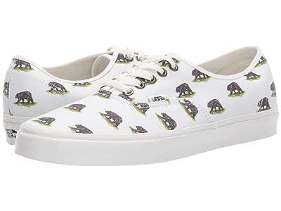 Vans Authentictm ((Outdoors) Blanc De Blanc/Bear) Skate Shoes