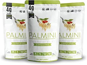 Palmini Low Carb Linguine | 4g of Carbs | As Seen On Shark Tank | (12 Ounce - Pack of 3)