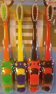 ミニカー歯ブラシ4Pセット