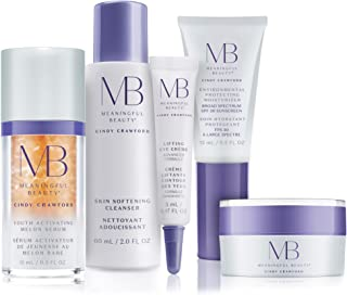 Meaningful Beauty – 5-Piece Anti-Aging Starter System – For Lifting, Firming, Fine lines & Wrinkles