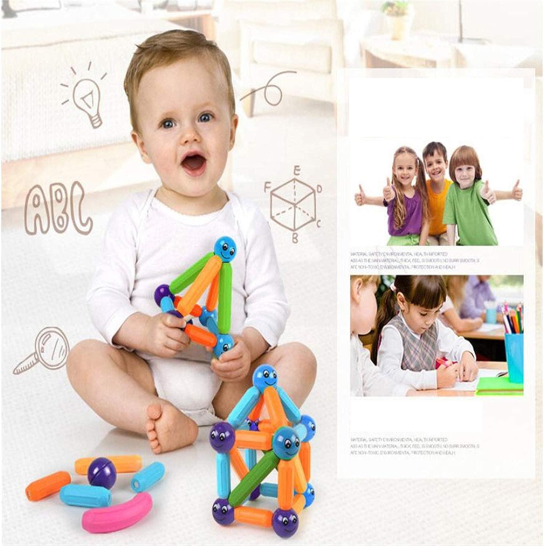 Tienda de moda y compras online. BABIFIS Juego de Bloques de construcción construcción construcción magnéticos, Deje Que su Hijo aprenda Colors y Formas a través del Juego, estimule la imaginación, Juguetes matemáticos  Más asequible