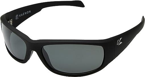 Black Matte Grip Ultra Grey 12-Polarized
