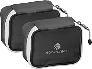 Eagle Creek Pack-it Specter Mini Cube(Extra S) - 2pc Set, Ebony (Black) - EC0A34PJ156
