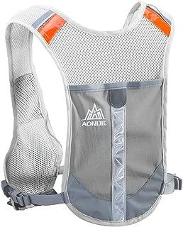 Reflective Running Vest Hydration Race Vest Hydration Pack Backpack