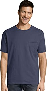 Hanes ComfortWash Garment Dyed Short Sleeve T-Shirt with a Pocket - GDH150