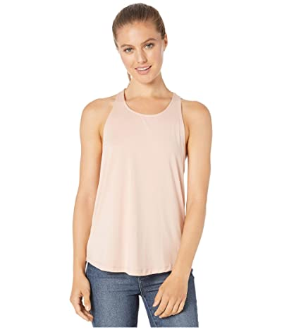 tasc Performance Twist Back Tank Top (Pink Salt) Women