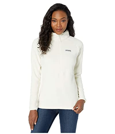 Columbia Basin Trailtm Fleece 1/2 Zip (Chalk) Women