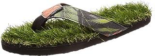 [カスタム] メンズ ビーチサンダル 軽量 (人工芝フッドベッド) [ AJ208-560 / KEEP ON THE GRASS CANVAS ] おしゃれ 海 ビーサン