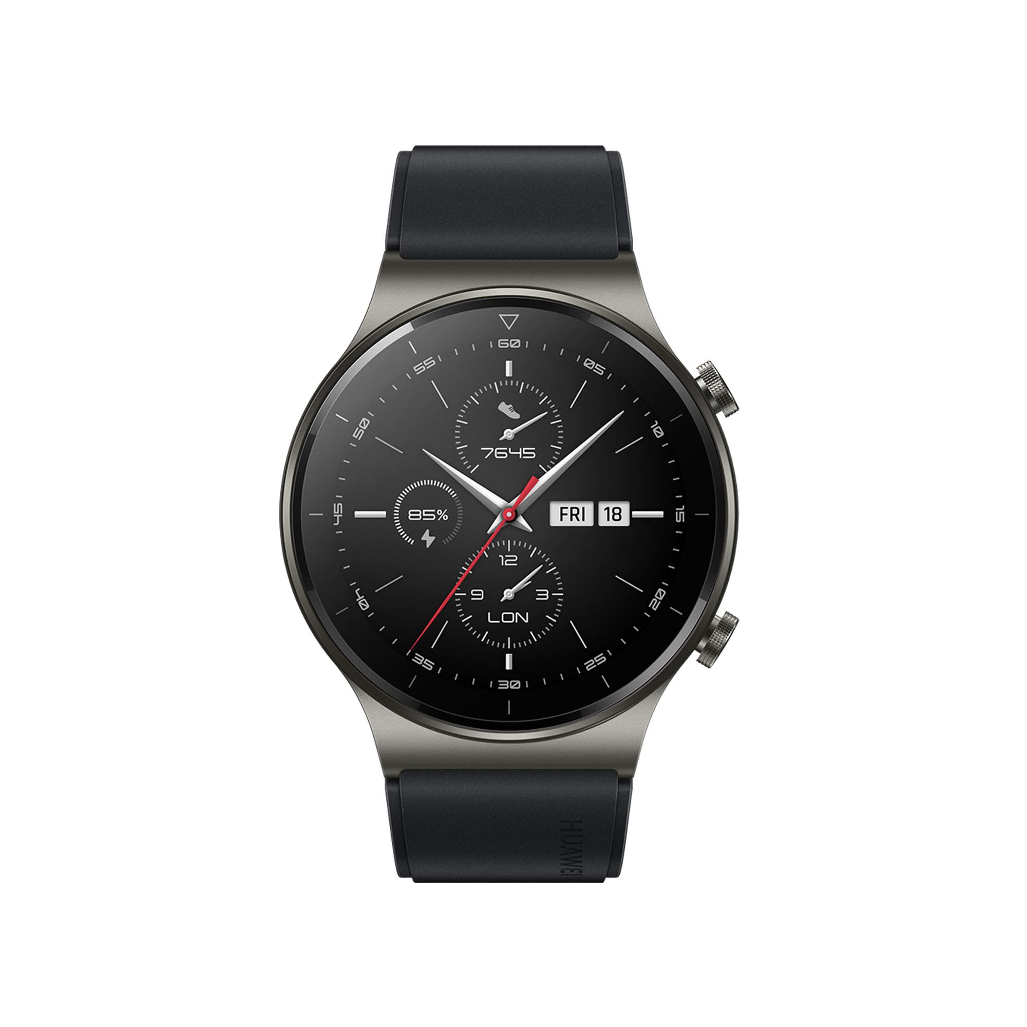 HUAWEI Watch GT 2 Pro Smart Watch 1.39 inch AMOLED Touchscreen SmartWatch, Sport GPS 14 Days Battery Life, Heart Rate Tracker, Blood Oxygen Monitor Waterproof Bluetooth Calls for Android, Black