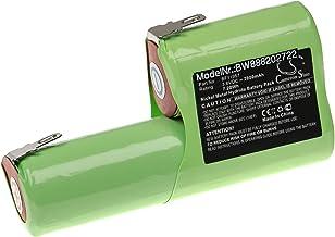 vhbw Batterie remplacement pour Kenwood BF11957 pour râpe à fromage (2000mAh, 3,6V, NiMH)