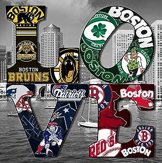 boston sports collage