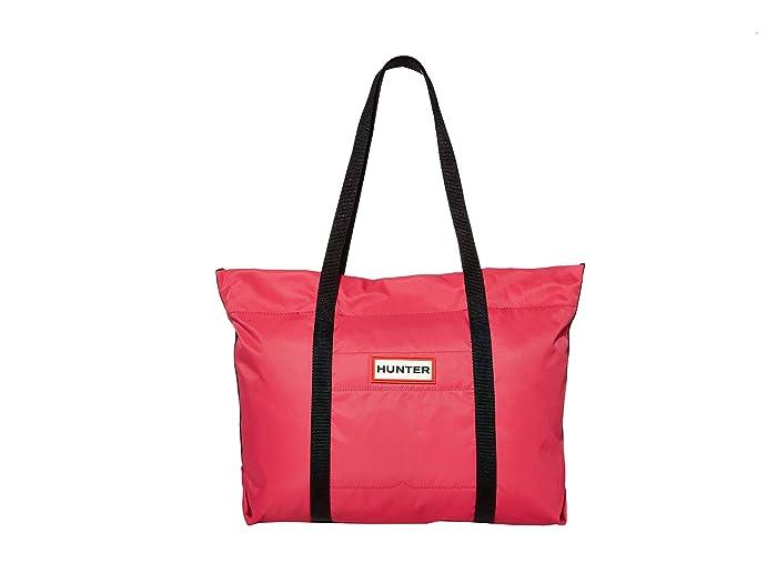 Hunter  Nylon Tote (Bright Pink) Tote Handbags