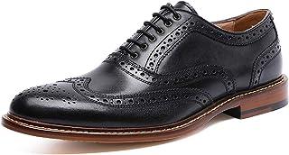 [タレークス] ロムリゲン Romlegen ビジネスシューズ 紳士靴 メンズ ウイングチップ 本革
